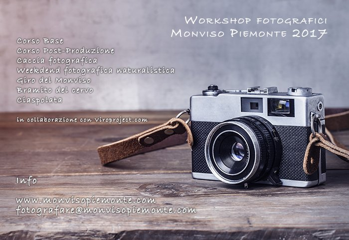 workshop fotografici
